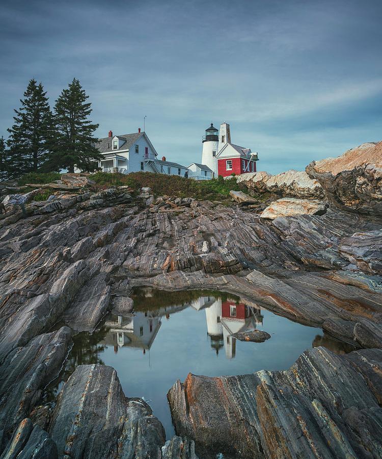 Pemaquid Lighthouse Classic by Robert Fawcett