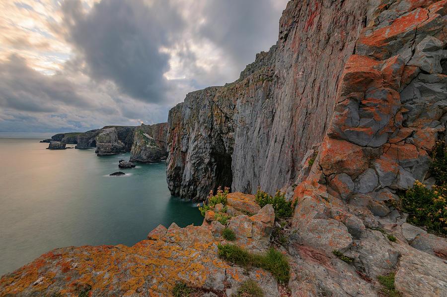 Sea Stacks Photograph - Pembrokeshire - Wales by Joana Kruse