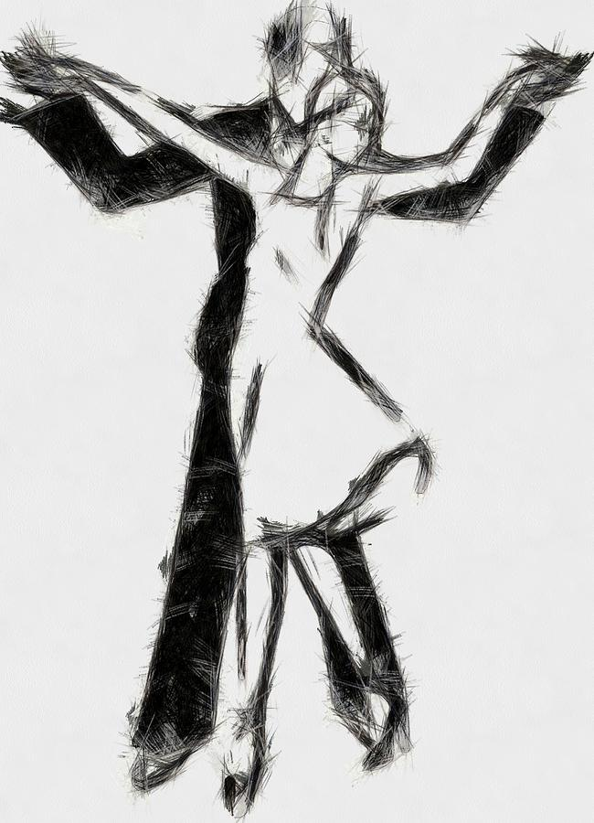 Pencil Dancers by Mario Carini