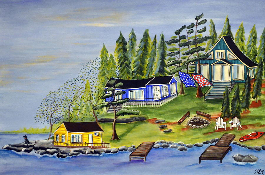 Pencil Lake by Heather Lovat-Fraser