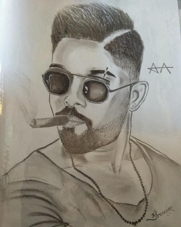 Pencil Sketch Drawing By Om Mitkari
