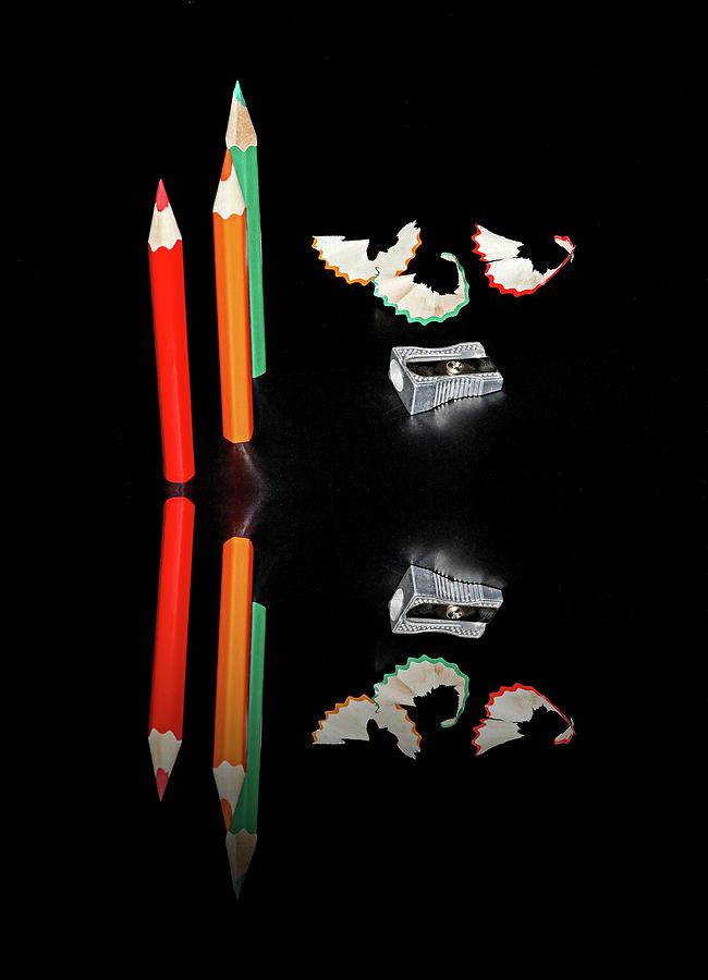 Pencils reflection by Martin Smith