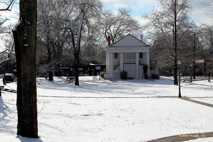 Pendleton Square Snow by Robert M Seel