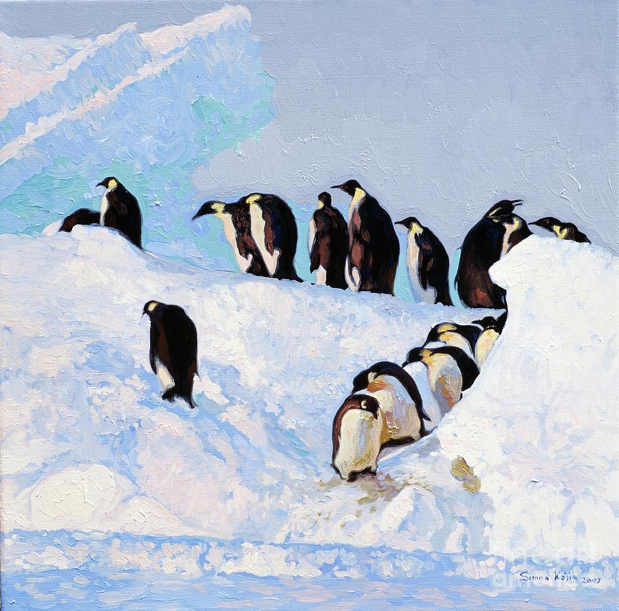 стараюсь пингвины на картинах художников сексуальные мужчины только
