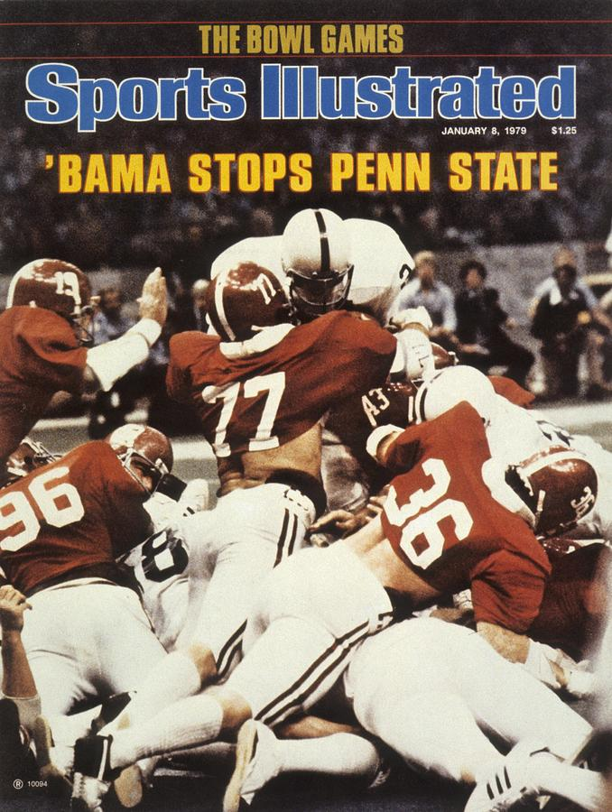 Penn State Mike Guman, 1979 Sugar Bowl Sports Illustrated Cover Photograph by Sports Illustrated