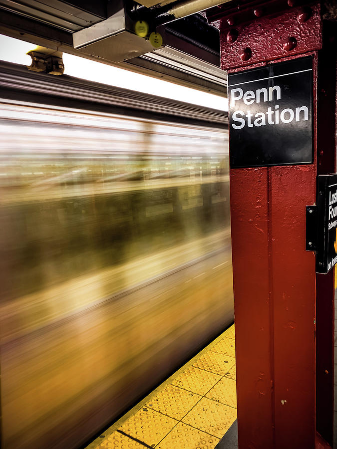 Penn Station by Mike Dunn