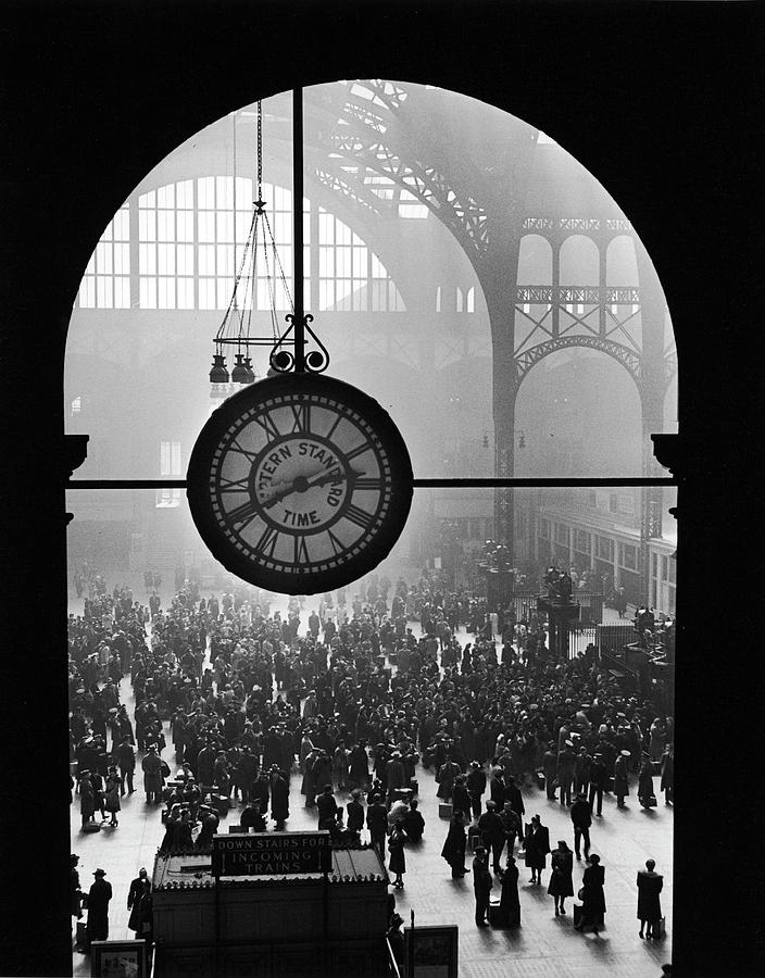 Pennsylvania Station In 1943 Photograph by Alfred Eisenstaedt
