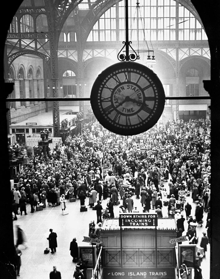 Pennsylvania Station In New York City Photograph by New York Daily News Archive