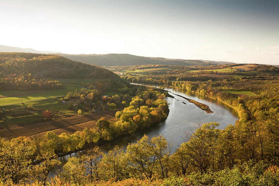 Pennsylvania Valley In Autumn Photograph by Pgiam