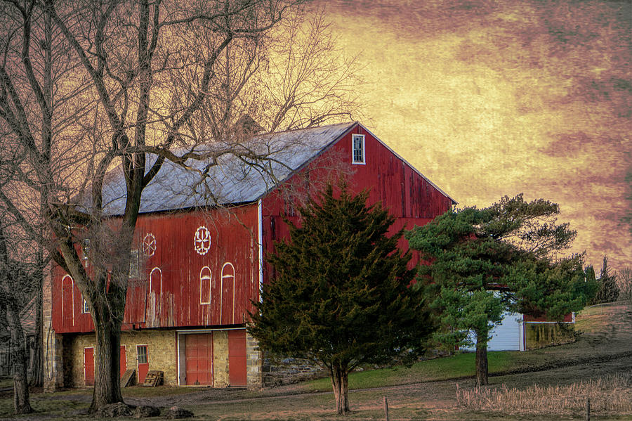 Pennsylvania Vintage Barn  by Jason Fink