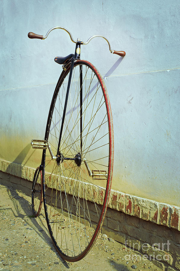 Big Photograph - Penny Farthing high by Unclepepin