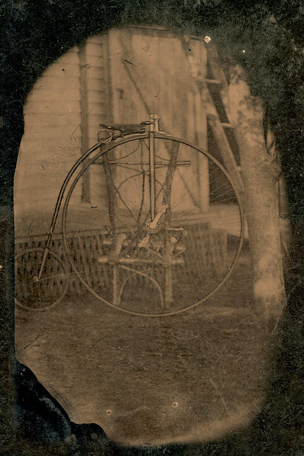 Penny Farthing Tintype by Jayson Tuntland