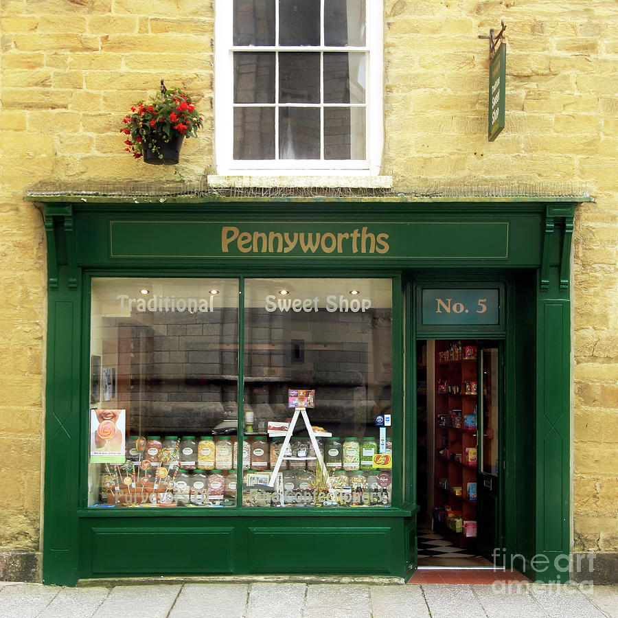 Pennyworths Traditional Sweet Shop Truro Photograph