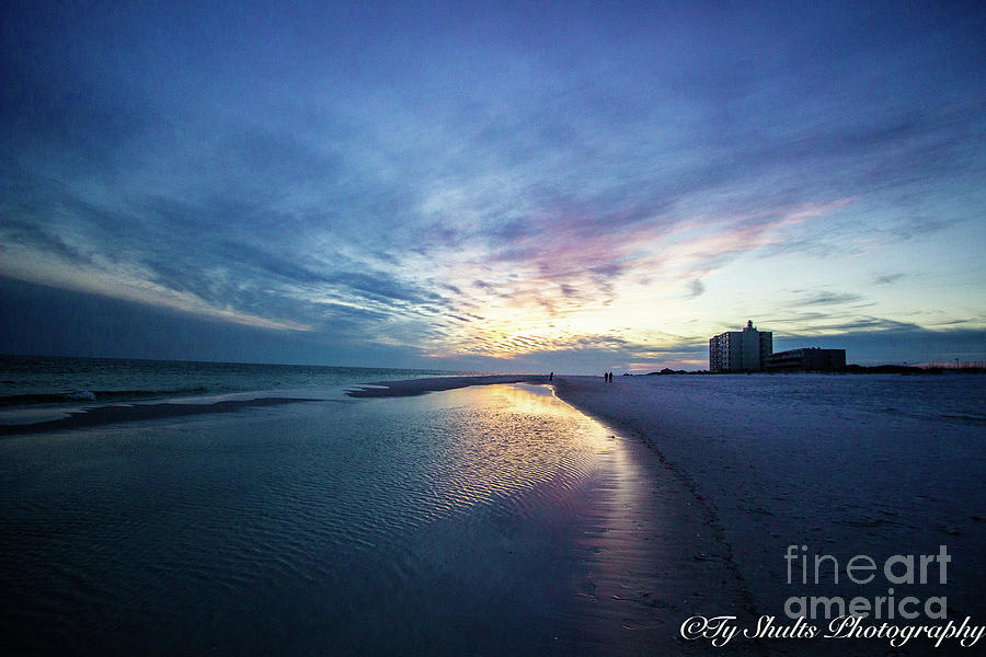 Pensacola Beach Sunset by Ty Shults