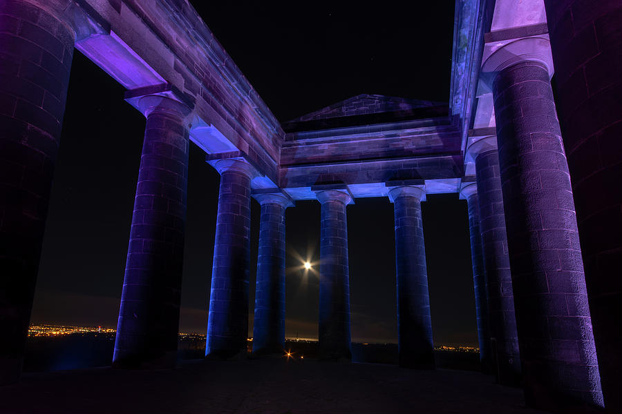Penshaw Monument Photograph - Penshaw Monument 1 by Steev Stamford