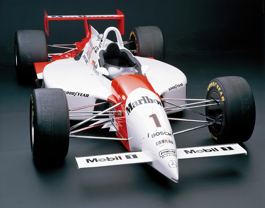 Penske Pc24, 1995 Photograph by Heritage Images