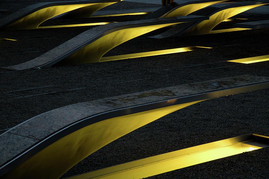 Pentagon Memorial 1 by Lynda Fowler
