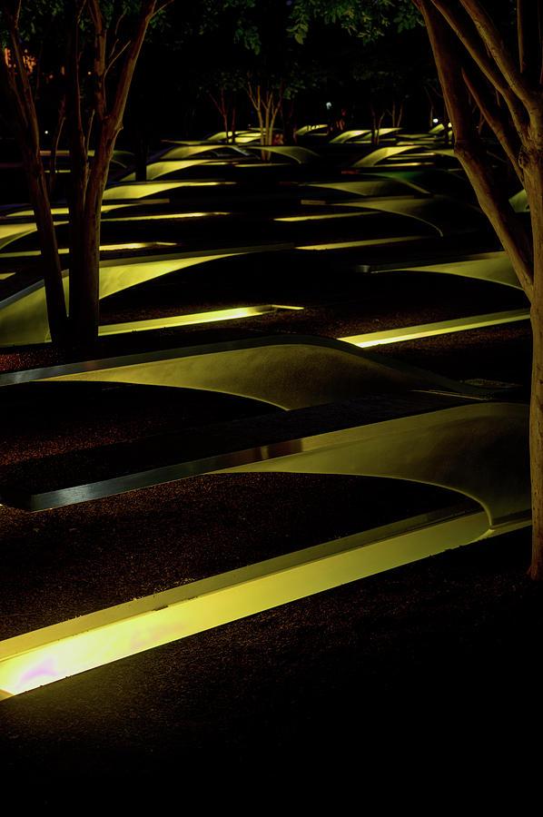 Pentagon Memorial 2 by Lynda Fowler