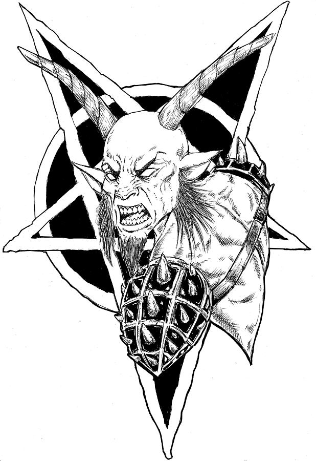 Pentagram by Alaric Barca
