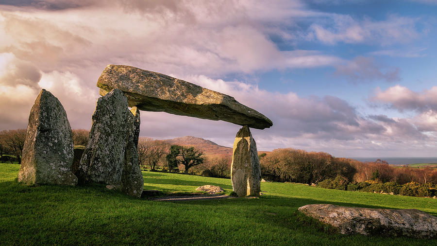 Pentre Ifan Burial Chamber Photograph