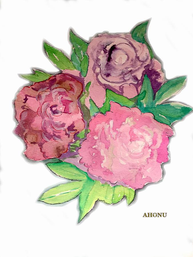 Peonie Roses by AHONU