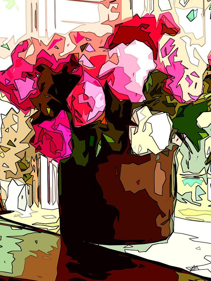 Peonies Free by Linda Mears