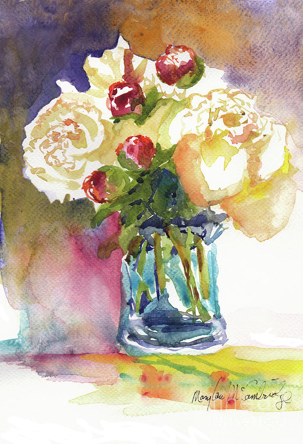 Peonies by Mary Lou McCambridge