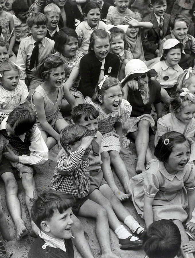 People. Holidays. Pic Circa 1952 Photograph by Popperfoto