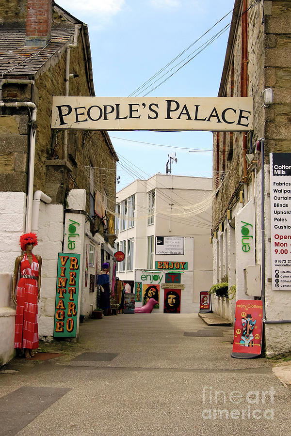 Peoples Palace Truro Photograph