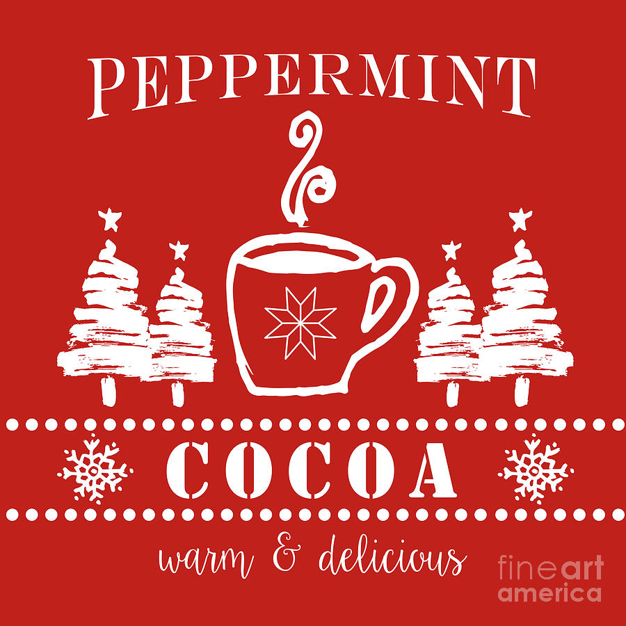 peppermint cocoa by Sylvia Cook