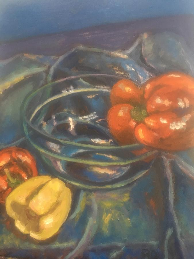 Peppers  by Beth Riso