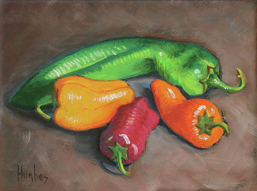 Peppers by Kevin Hughes