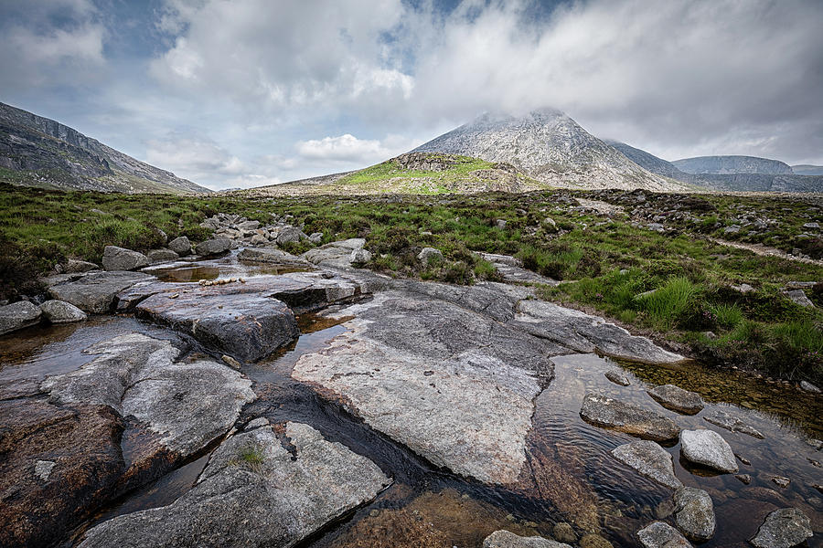 Percy Bysshe and Slieve Lamagan by Nigel R Bell