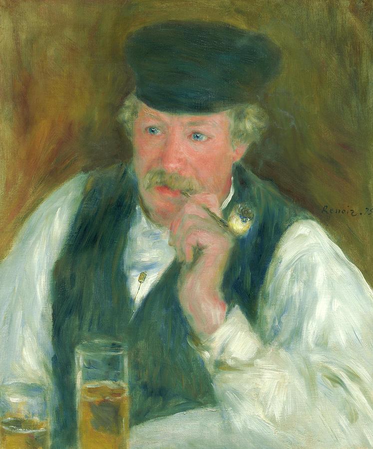 Pierre-auguste Renoir Painting - Pere Fournaise, 1875 by Pierre-Auguste Renoir