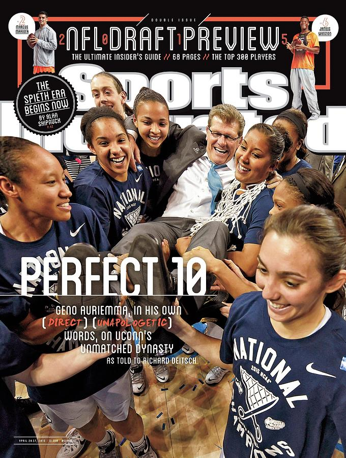 Perfect 10 Geno Auriemma, In His Own Direct Unapologetic Sports Illustrated Cover Photograph by Sports Illustrated