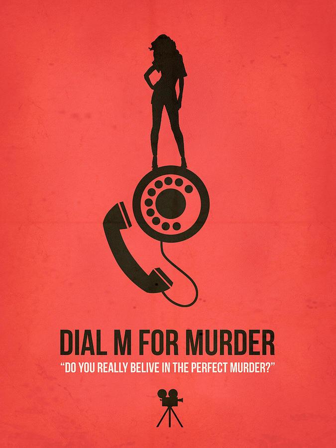 Dial M For Murder Digital Art - Perfect Murder by Naxart Studio