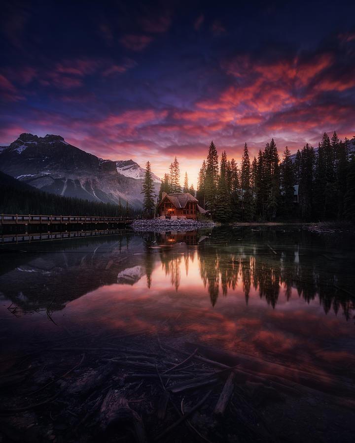 Canada Photograph - Perfect Sunrise. by Juan Pablo De Miguel