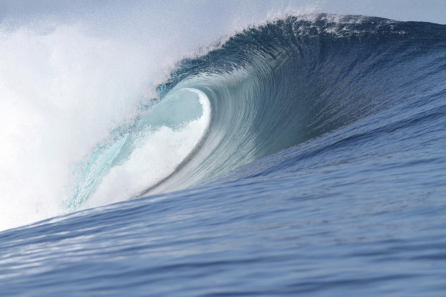 Perfect Wave Photograph by Reniw-imagery