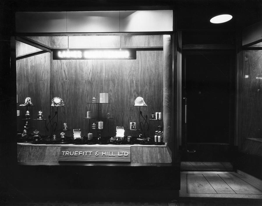 Perfumiers Window Photograph by Sasha