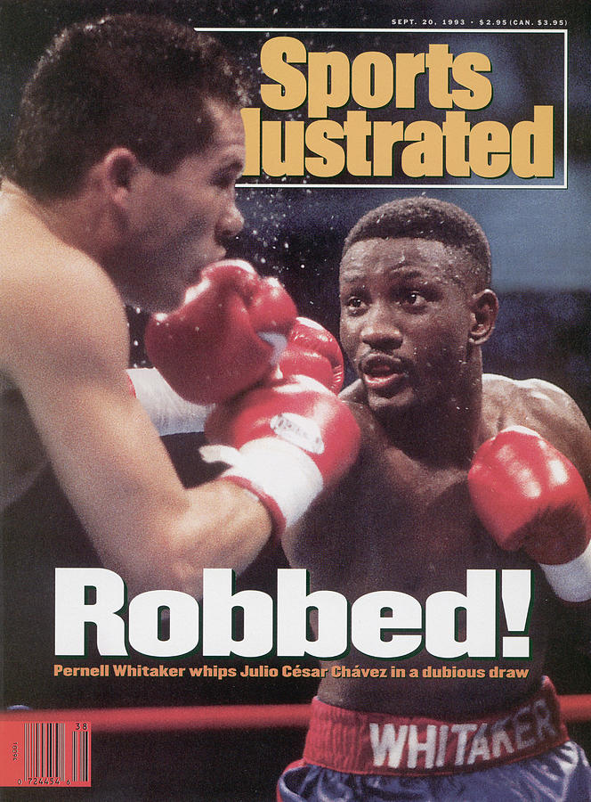 Pernell Whitaker, 1993 Wbc Welterweight Title Sports Illustrated Cover Photograph by Sports Illustrated