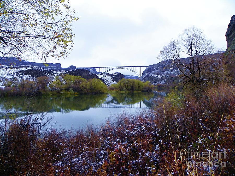 Perrine Bridge Majestic Snake River Canyon Twin Falls Idaho