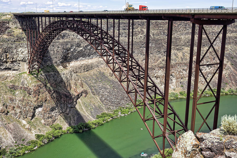 Perrine Bridge, Twin Falls, Idaho by Tatiana Travelways