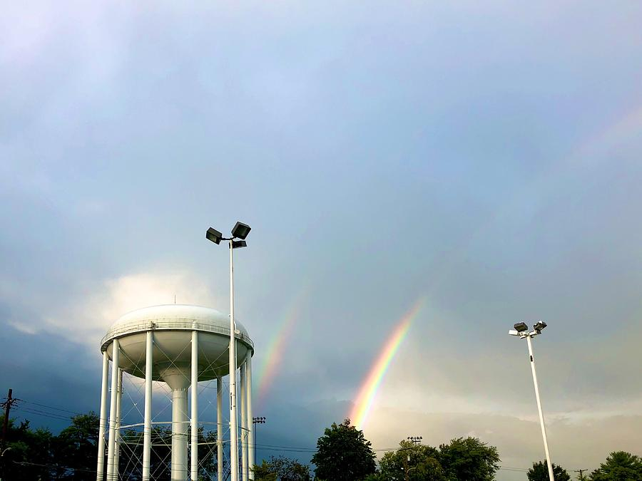 Perry Hall Double Rainbow by Chris Montcalmo