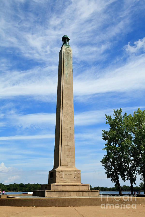 Perry Monument in Presque Isle State Park by Jill Lang