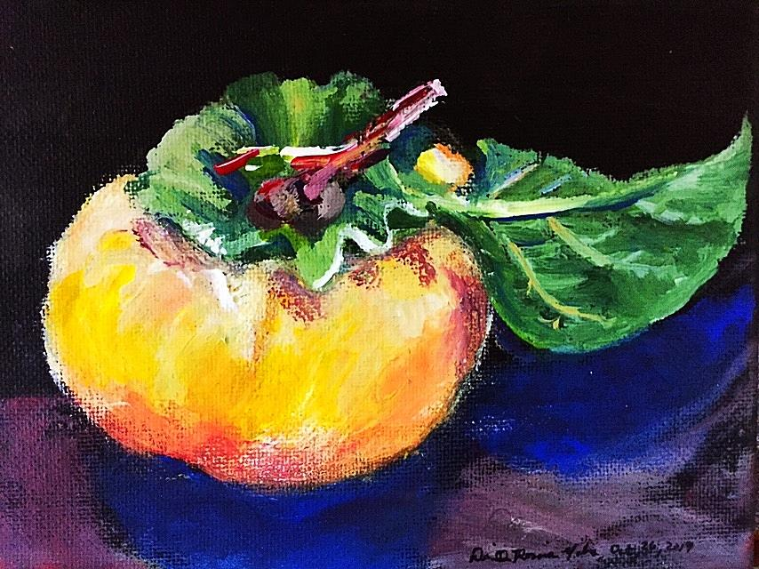 Persimmon Study  by Danielle Rosaria