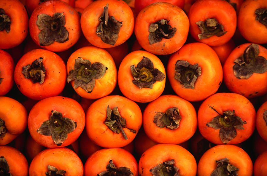 Persimmons From A Stall In The Central Photograph by Lonely Planet