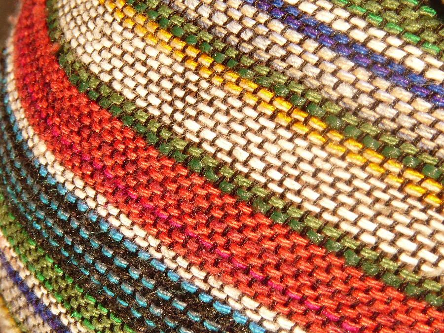 Peruvian Fabric Art Photograph by Images By Luis Otavio Machado