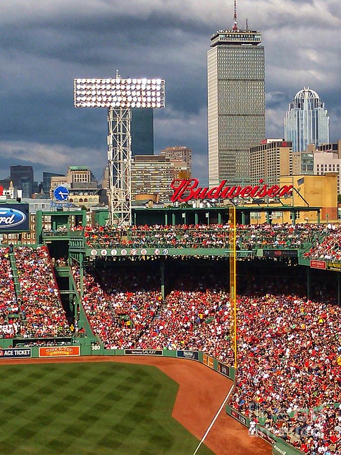 Peskys Pole at Fenway Park by Mary Capriole