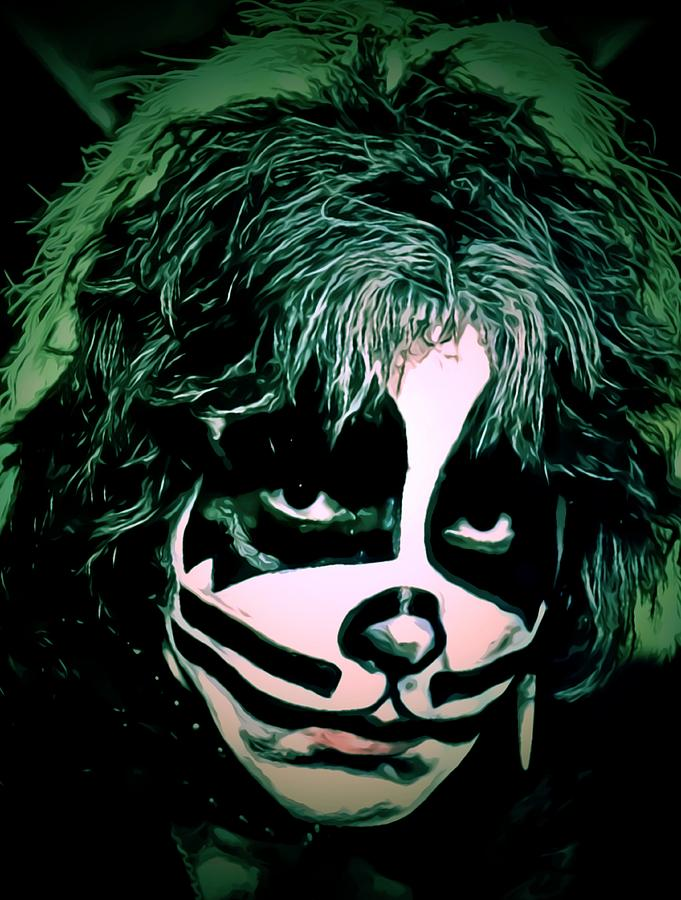 Peter Criss by Fred Larucci