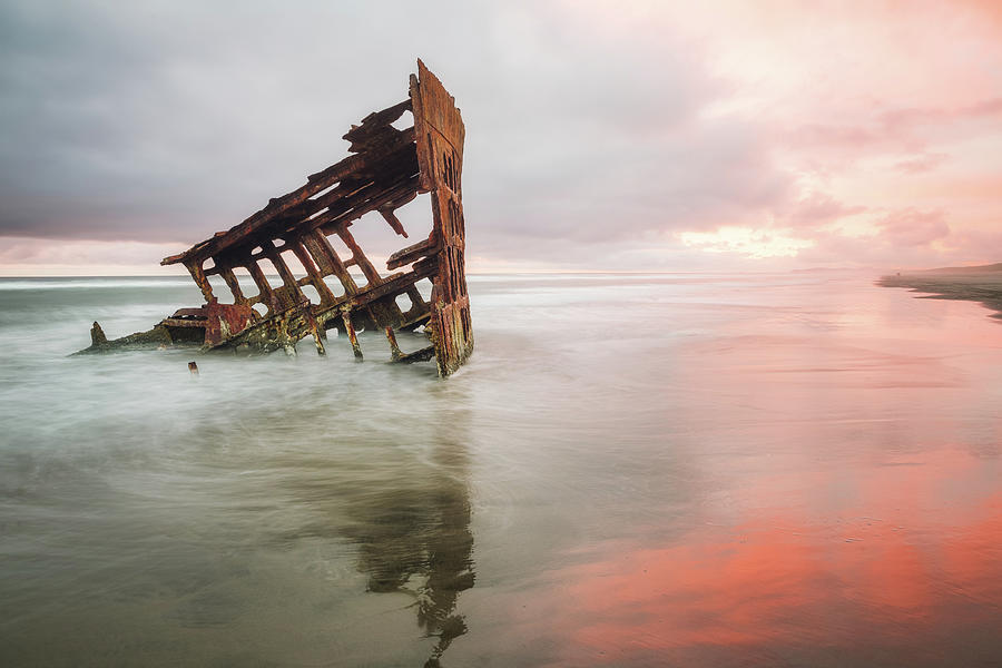 Peter Iredale Shipwreck by Nicole Young